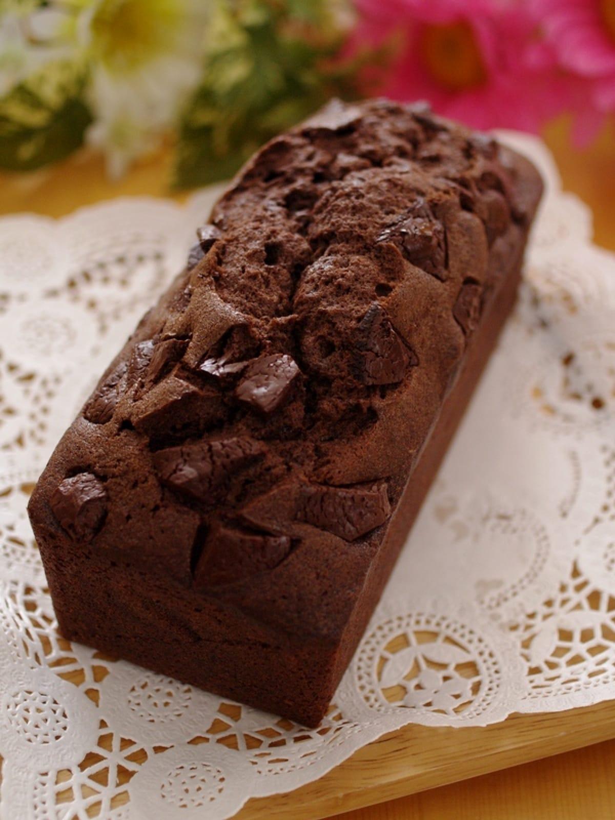 パウンド レシピ 人気 ケーキ チョコ
