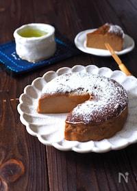 『ほうじ茶お豆腐ケーキ』