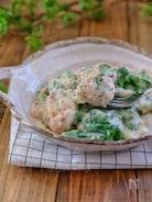 *ブロッコリーと鶏肉のチーズクリーム煮*