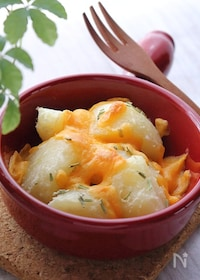 『粉ふきいものチーズ焼き』