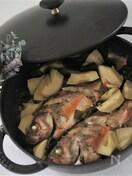 メバルと筍の煮つけ(ストウブ料理)