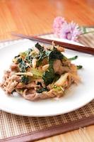 小松菜でカサ増し!シャキシャキ豚キムチ