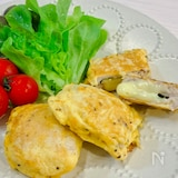 【ほぼ10分で晩ごはん】簡単♡しそ&チーズのポークピカタ