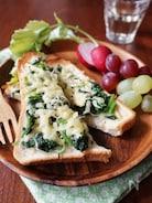 朝食におすすめ!カルシウムたっぷりトースト