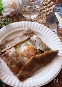『休日のおしゃれ朝食やブランチに♡栄養たっぷりそば粉のガレット』