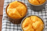 鍋で簡単!かぼちゃ米粉蒸しパン♪