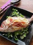 白身魚の香味蒸し