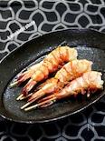 食べやすい「海老の串焼き」