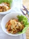 マイタケと白菜のバター醤油炒め(ガラムマサラ風味)