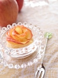 薔薇のアップルパイ