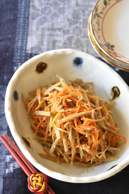 レシピ 美味しい きんぴら ごぼう