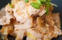 ちょっと食べたい時に♪『豚肉と玉ねぎ生姜ポン酢炒め♪』
