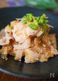 『ちょっと食べたい時に♪『豚肉と玉ねぎ生姜ポン酢炒め♪』』