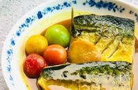鯖のカレー味噌煮