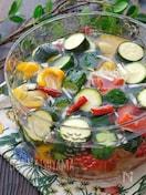 さっぱりヘルシー!*夏野菜の水キムチ*