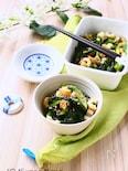 ごま油で食欲up!小松菜とちくわの炒め煮【作り置きOK】