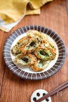 【ちくわの海苔マヨチーズ焼き】パクパク3分副菜♬︎お弁当にも