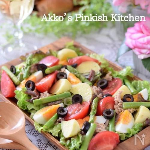 ニース風サラダ フランス発祥のオシャレなサラダ 1分動画