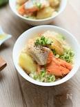 【ボリューム満点!】塩鮭と新じゃがのだしバター炊き込みご飯