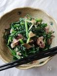 スピード料理☆豚肉とネギとニラのにんにく香り炒め