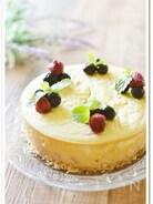 おから入りクリームチーズケーキ