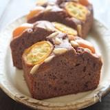 バター・白砂糖不使用♪金柑と松の実のケーキ