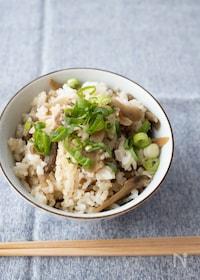 『『豚バラごぼうの混ぜご飯』#簡単#お弁当#おにぎり』