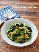 麺つゆ&レンジで5分!キャベツと小松菜の煮物