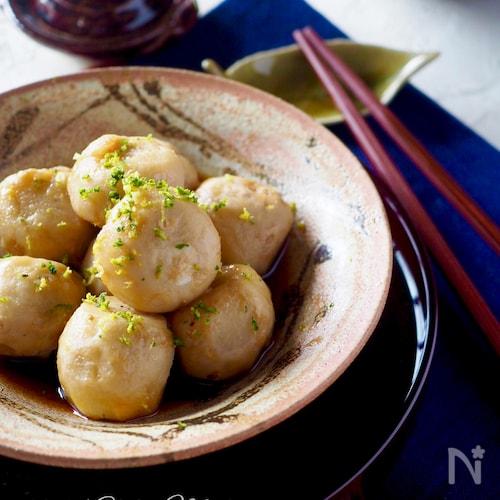 【簡単な里芋の皮のむき方】懐かしい芋の煮っころがし#作り置き