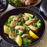下拵えコツあり。ぷっくり♡牡蠣とブロッコリーのバタぽん炒め