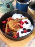 おうちキャンプ飯!浸して焼くだけ!紅茶のフレンチトースト
