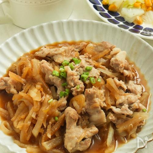 大根がいくらでも食べられる!豚こまと大根のうま煮。