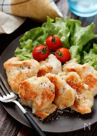 『むね肉のマヨチーズ焼き【#下味冷凍#糖質OFF#お弁当】』