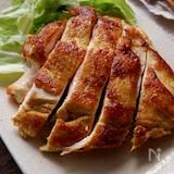 むね肉で大満足!チキンカレーステーキ