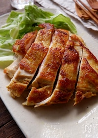 『むね肉で大満足!チキンカレーステーキ』