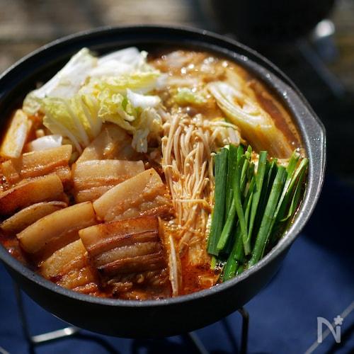 山のキムチ鍋