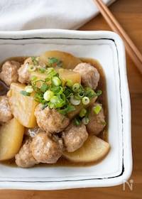 『『大根と肉団子の中華風煮込み』#大根消費#ご飯がすすむ』