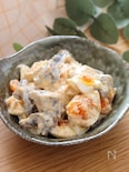 リピ決定!組み合わせ最高♡こんにゃくと卵の味噌マヨサラダ