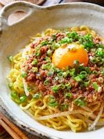 食欲盛り上がり!【冷たい肉油麺!!】