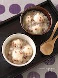 豆腐白玉の雑穀ぜんざい