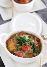 『サバ味噌煮缶で簡単洋風チーズ焼き』