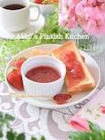 レンチン3分で1食分だけの苺ジャムを作る方法 30秒動画