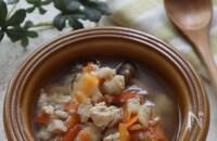 ダイエットにも!たたきれんこんと鶏肉のスープ