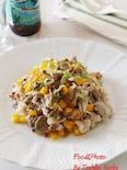 レンジ調理だけど炒め物みたい!豚肉とザーサイの炒め物風