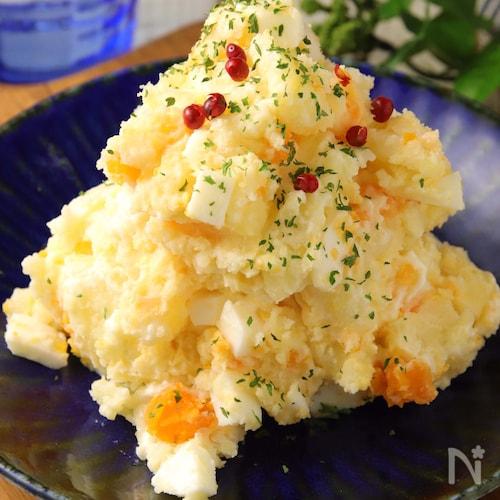 じゃがいもと卵だけ♪大人のポテトサラダ