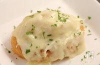 お弁当!コロッケリメイク キャベツチーズ