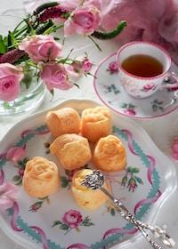 『【ホットケーキミックスで】薔薇のひとくちマドレーヌ』