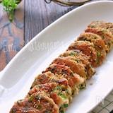 餃子風味の豆腐と豚ひき肉のもちもち落とし焼き