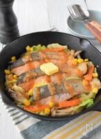 野菜もたっぷり!鮭のちゃんちゃん焼き