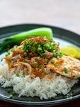 台湾グルメの定番!「鶏肉飯(ジーローハン)」